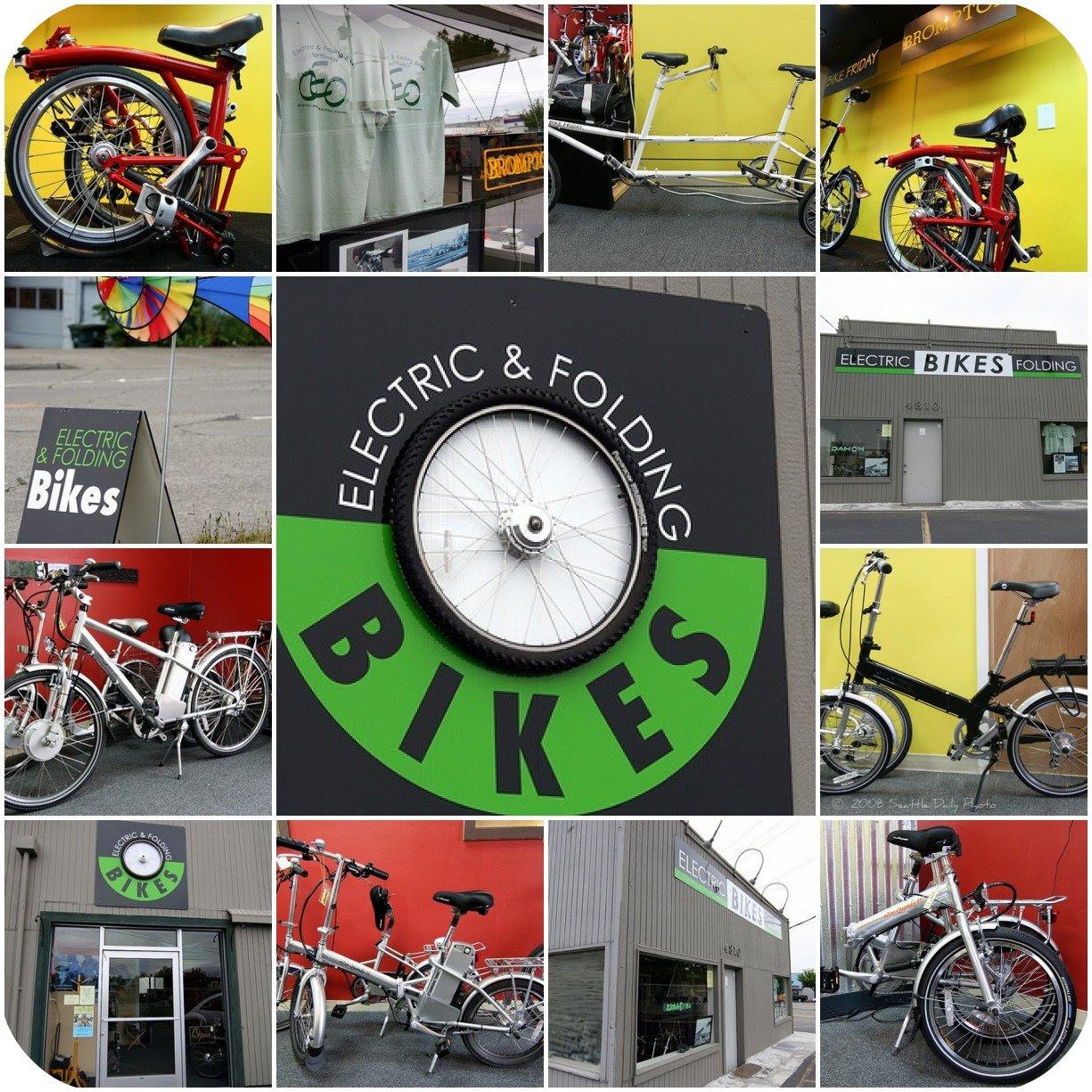 Electric & Folding Bikes Northwest