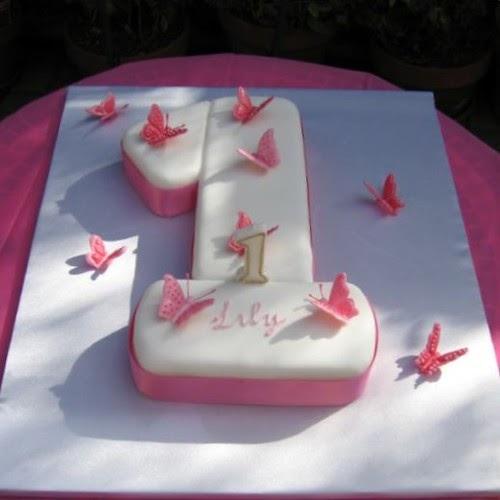 Cake My Day: Lily's 1st Birthday Cake (& My First Fondant