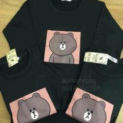 áo gấu brown