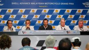 Race Direction press conference Simoncelli Sepang