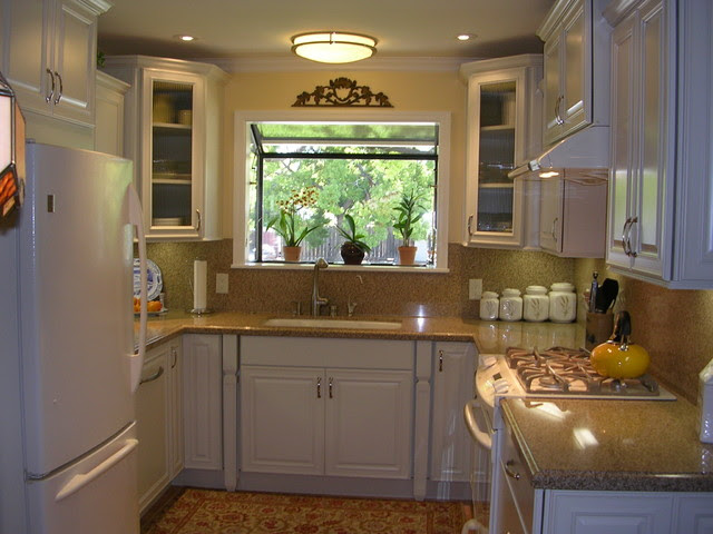 Small U Shaped Kitchen Modern Home Design And Decor