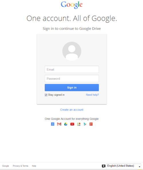 Phishing page hosted on Google: A true dog-bites-man scam