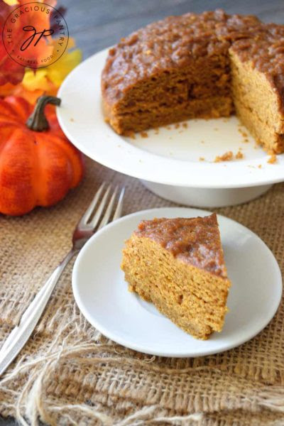 Instant Pot Pumpkin Spice Cake Recipe | The Gracious Pantry