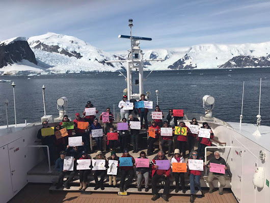 "Andrew Stroehlein on Twitter: ""#WomensMarch Antarctica  """
