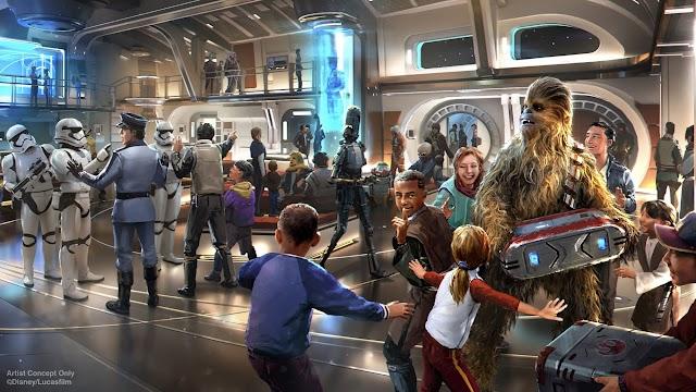 El hotel Disney's Galactic Starcruiser llevará a una familia de cuatro a una galaxia muy, muy lejana por $ 6,000