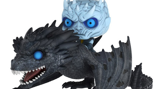 GAME OF THRONES' Night King Gets an Amazing Dragon-Riding Funko Pop! | Nerdist