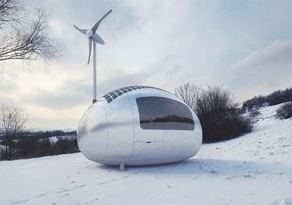 Get Off the Grid With This Eco-Powered Micro-Home