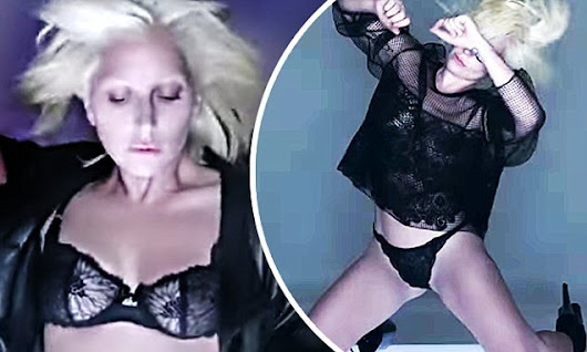 Lady Gaga bares it all in Tom Ford campaign with a sexy music video