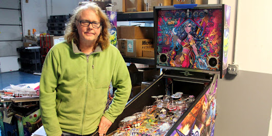Pinball Craftsman Hits Bumpers Building a Sought-After Machine - WSJ