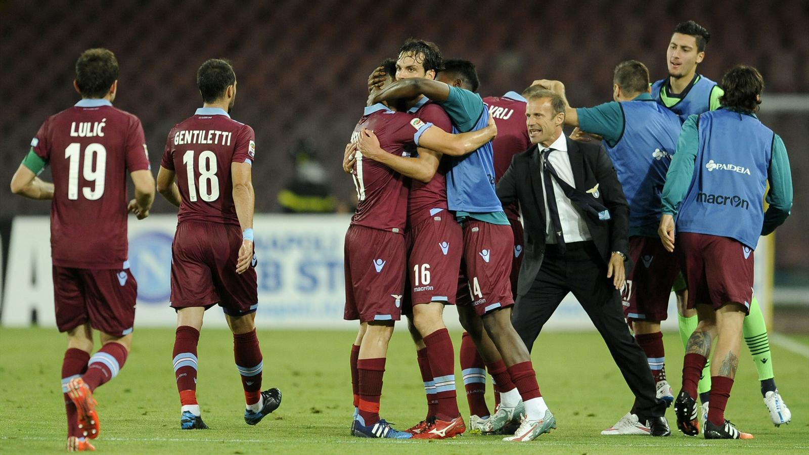 La Lazio disputará la Champions