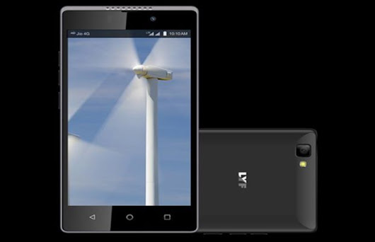 Reliance Retail unveiled Wind 7S smartphone with 4G VoLTE - Review Gadgets