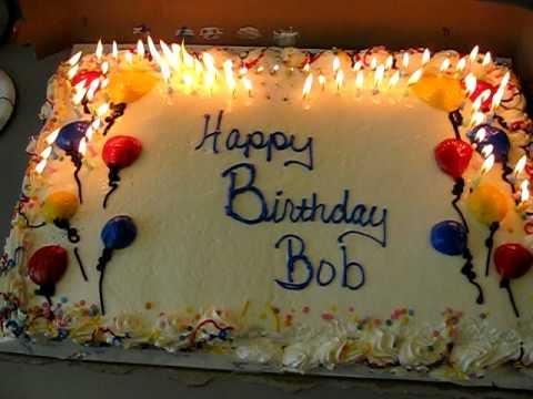Happy Birthday Bob Cake Images
