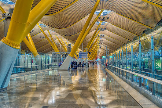 The Airport in Madrid | Stuck in Customs