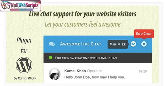 Awesome Live Chat v1.4.2