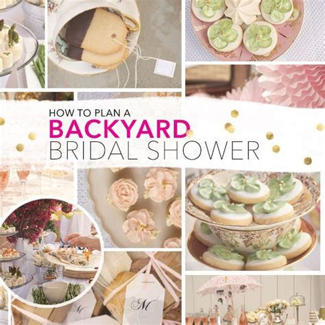 25  best ideas about Outdoor bridal showers on Pinterest