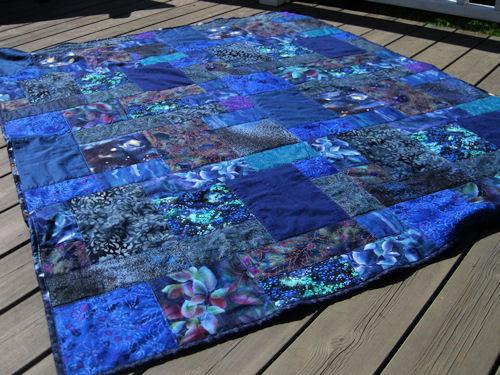 blue quilt :: blått #2