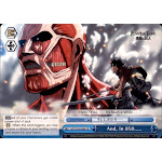 Weiss Schwarz Attack on Titan Climax Rare And, in 850 E099
