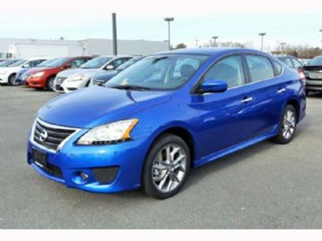 2014 Nissan Sentra 4dr Sdn CVT SR Premium Package Blue | LEASE BUSTERS ...