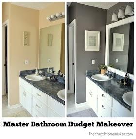 View 10 Master Bathroom Makeover Ideas Background