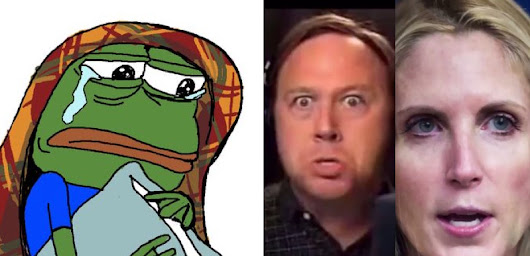 Pepe Frog-Tears As Alt-Right Implodes Over Trump's Globalist Missile Strike
