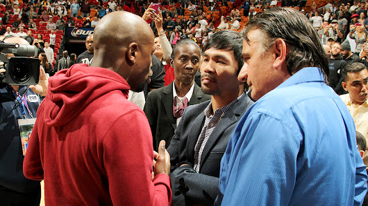 Mayweather-Pacquiao signed, set for May 2