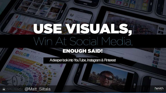 Use visuals and win at social media