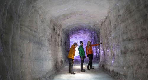 Architecture and design news from CLAD - Iceland's man-made IceCave opens to the public