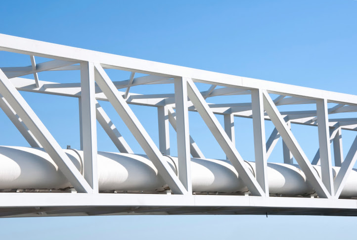 Oilfield - pipe line