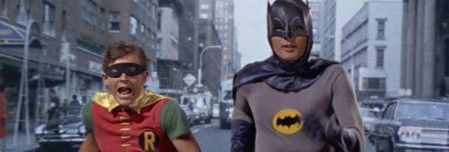 Adam West y Burt Ward en 'Batman'