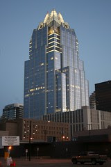 frost bank tower in the morning
