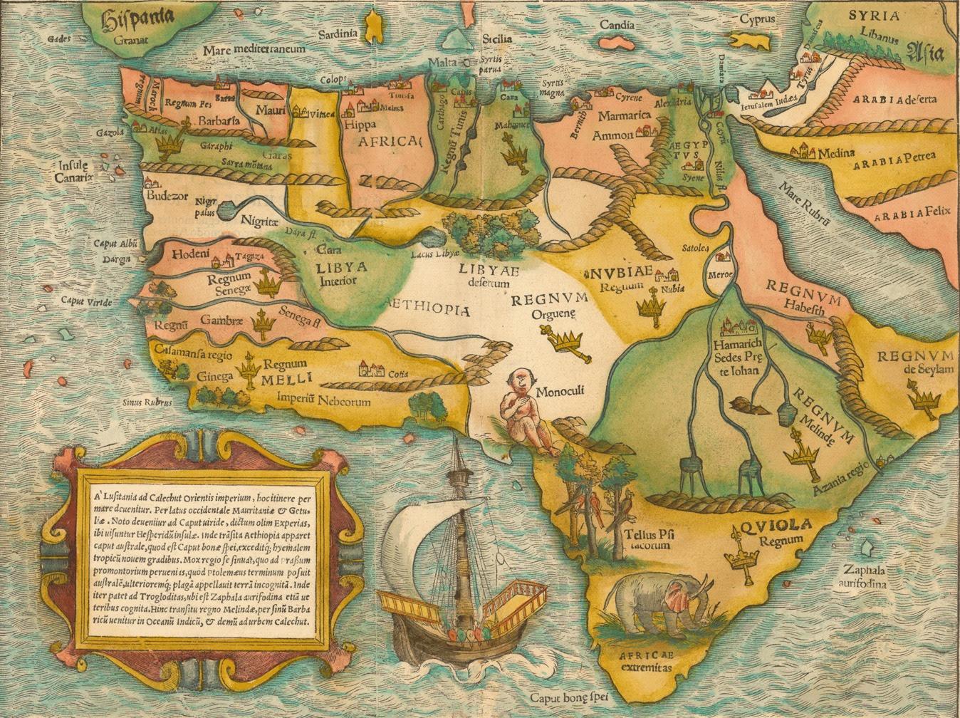 Quand La Carte De Lafrique Ressemblait Vaguement à Celle Des Etats