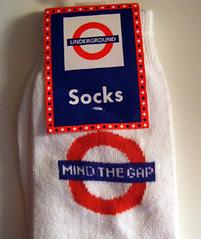 Mind The Gap Socks