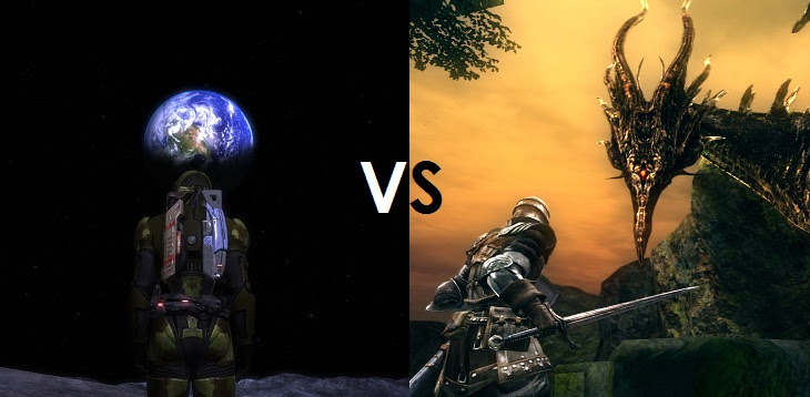 Image result for scifi vs fantasy