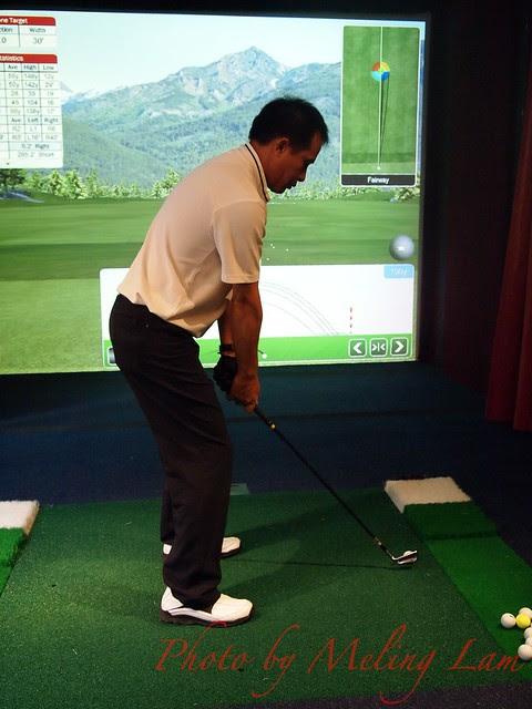 Golf Simulation hsbc golf champion