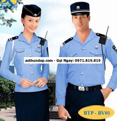 đồng phục bảo vệ đẹp