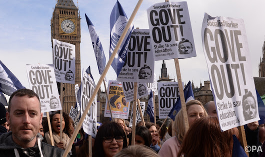 Are the tables turning in Michael Gove's war on teacher unions?