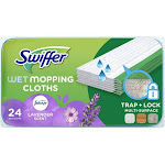 Swiffer Sweeper Wet Mopping Pad & Multi Surface Refills for Floor Mop - 24ct