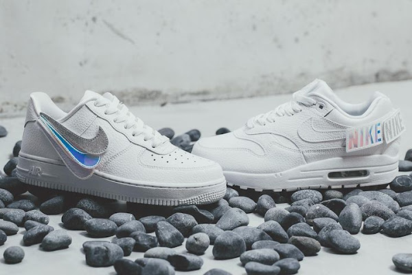 8754557a29 Nike's Air Force 1 & Air Max 1 Arrive With Removable Branding Patches