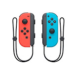 Nintendo Joy-Con Gaming Pad - Wireless - Bluetooth - Nintendo Switch - Neon Red, Neon Blue