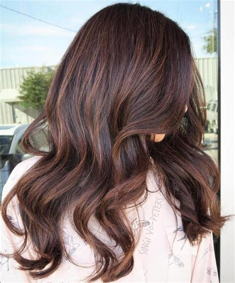 chocolate brown hair color ideas  brunettes brown