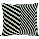 Parkland Collection Arthur Transitional White Pillow Cover With Down Insert