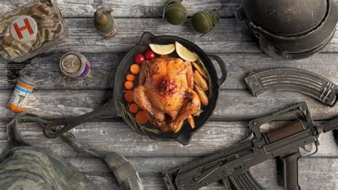 chicken  life food weapon pubg wallpapers hd