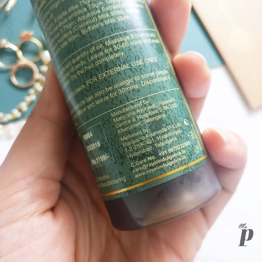 Royal Indulgence: Amaira Hair Oil | Review