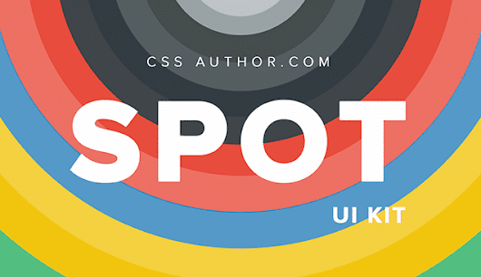 Spot UI Kit PSD (Free) » CSS Author