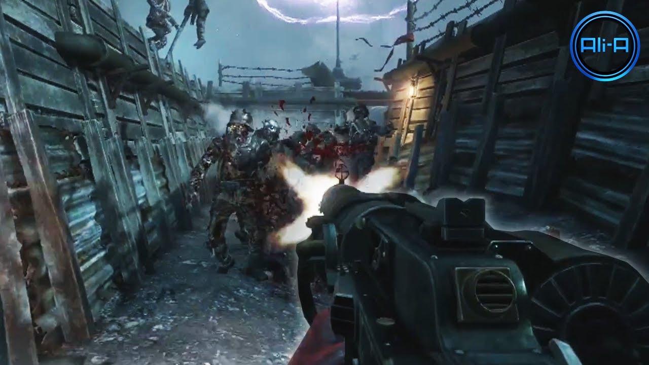 Black Ops 2 Origins Zombies Apocalypse Trailer Map