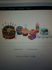 thanks google for the b-day love