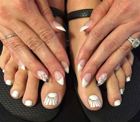 10  Wedding Nail Designs, Ideas   Design Trends   Premium