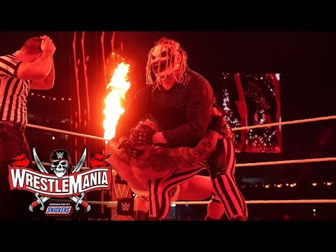 The Fiend targets Randy Orton with eerie attack: WrestleMania 37 – Night 2 (WWE Network Exclusive)