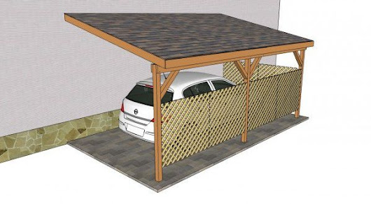 10 Free Carport Plans-Build a DIY Carport On A Budget - Home And Gardening Ideas