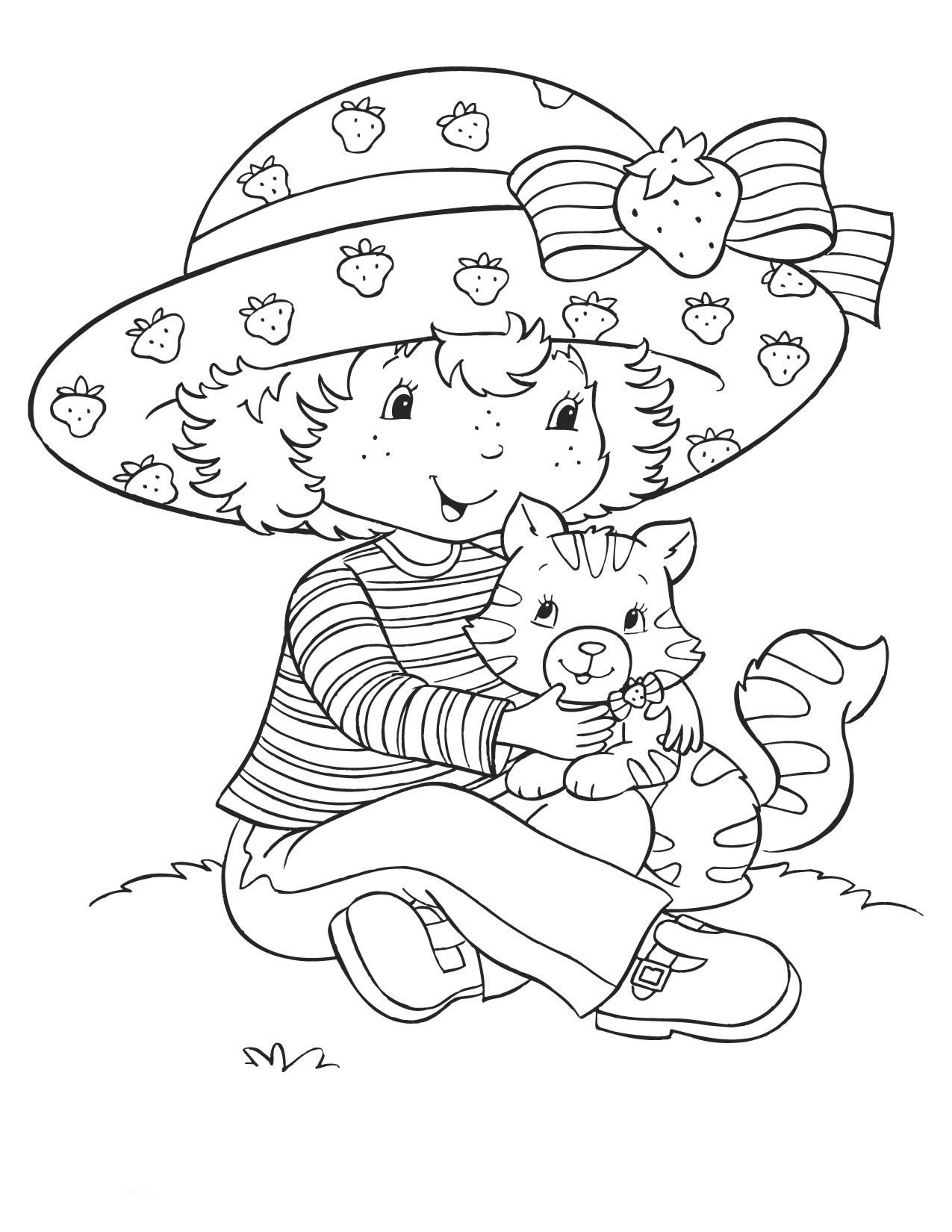 Blueberry Coloring Pages - Best Coloring Pages For Kids | 1650x1275